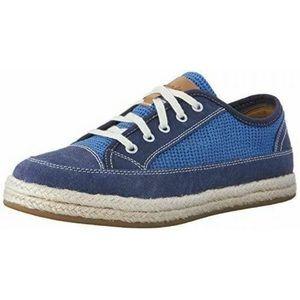 Clarks 10 Azella Prosper Canvas Espadrille Sneaker